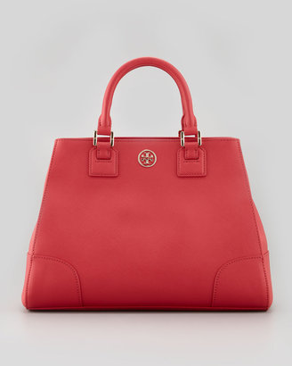 LUST-HAVE: Tory Burch Robinson Triangle Tote Bag Red