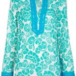 Online shopping: Tory Burch floral print tunic