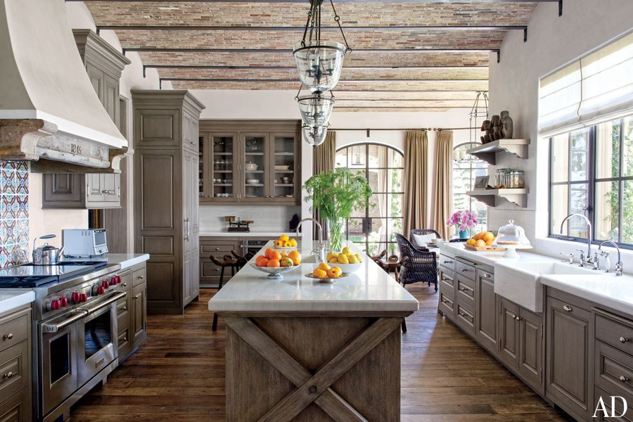 Celebrity kitchens: At home with Gisele Bundchen and Tom Brady in Los Angeles