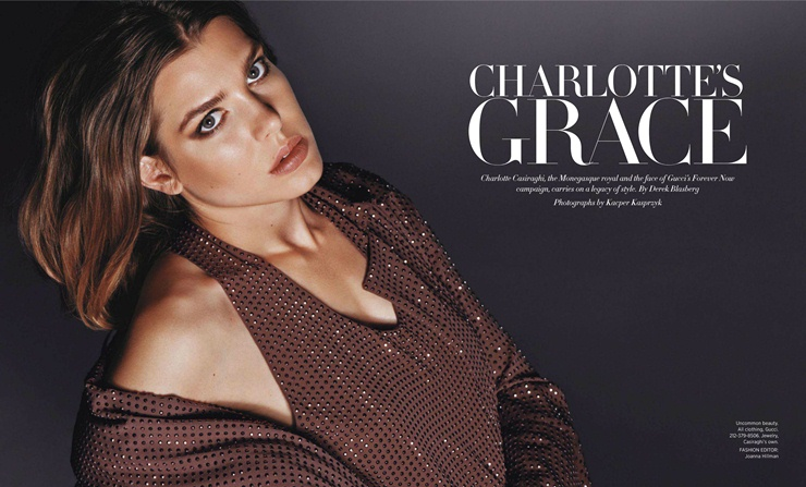 Pictures of Charlotte Casiraghi 2013