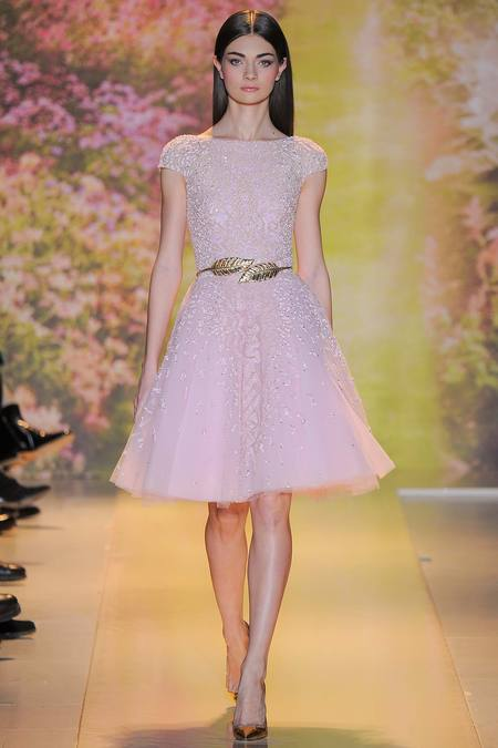 Runway: Zuhair Murad Spring 2014 couture collection