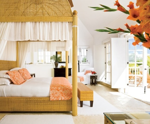Bedroom - Tortuga Bay luxury accommodation designed by Oscar de la Renta