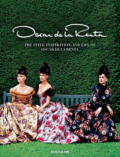 FASHION BOOKS: Oscar de la Renta book cover by Assouline