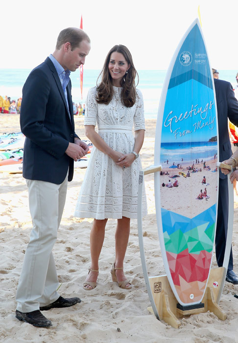Shop for Kate Middleton style - Australian brand ZIMMERMANN white Roamer dress