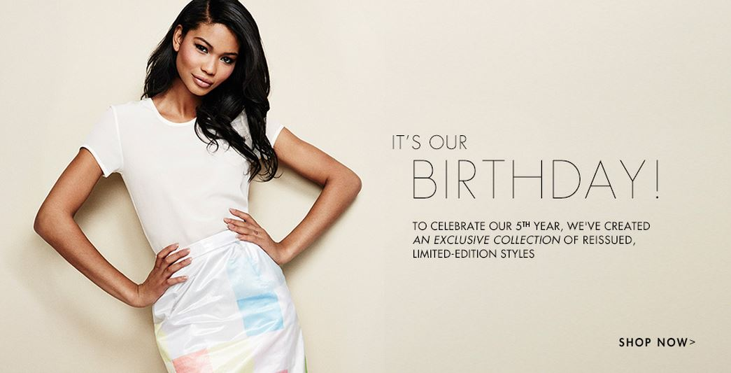The Outnet turns 5 - birthday sale