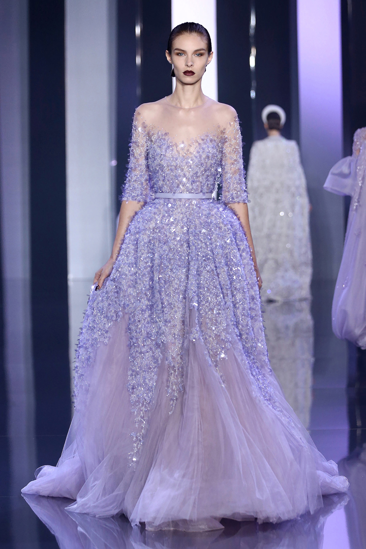 GLAMOROUS GOWNS: Ralph and Russo Fall 2014 couture collection