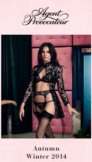 LUSCIOUS LINGERIE Agent Provocateur Autumn Winter Collection 2014