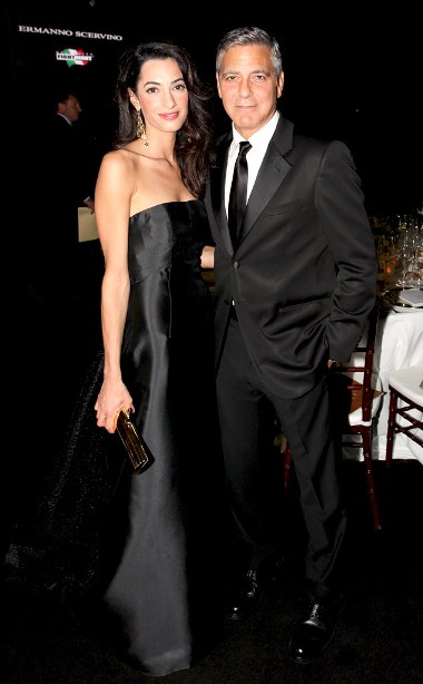 Actor George Clooney confirms that he will be marrying lawyer Amal Almuddin in Venice