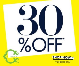 SALE ALERT - C Wonder Labor Day sale 2014 - 30-50% off