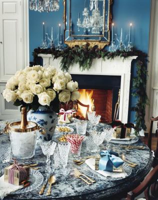 A LUSCIOUS FESTIVE SEASON: Aerin Lauder Christmas House & Garden 2007