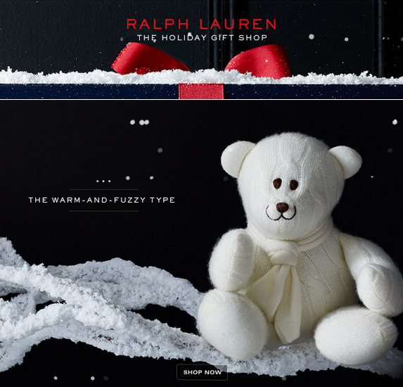 CHRISTMAS GIFT GUIDE - Ralph Lauren 2014
