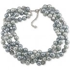 Macy's sale: Carolee Imitation Pearl and Faceted Bead Torsade Necklace