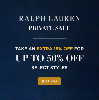 sale alert ralph lauren up to 50 off sale. Black Bedroom Furniture Sets. Home Design Ideas