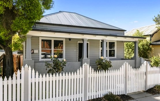 AUSTRALIAN RESIDENTIAL ARCHITECTURE: Charming cottages in Bendigo, Victoria