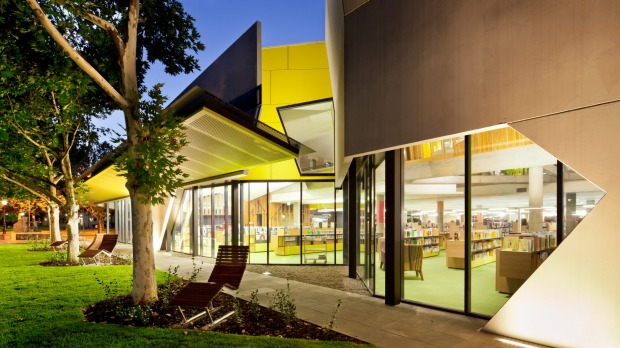 MODERN AUSTRALIAN ARCHITECTURE: Bendigo Library