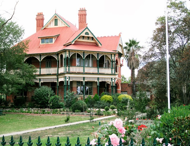 EDWARDIAN STYLE IN AUSTRALIA: Langley Hall, Bendigo