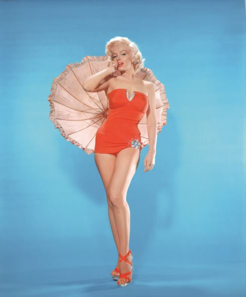 BENDIGO ART GALLERY: Marilyn Monroe publicity image for How to Marry a Millionaire