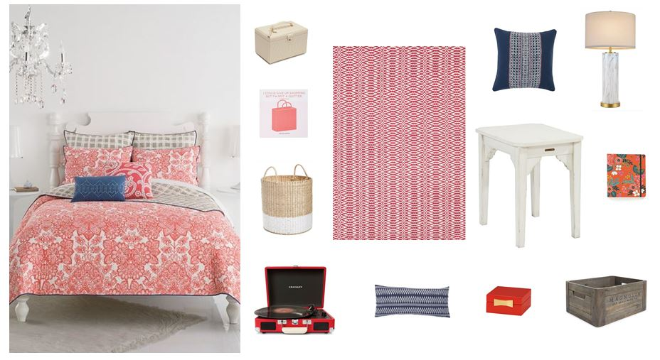 PRETTY BEDROOM DESIGN IDEAS: Shop this look with myLusciousLife.com