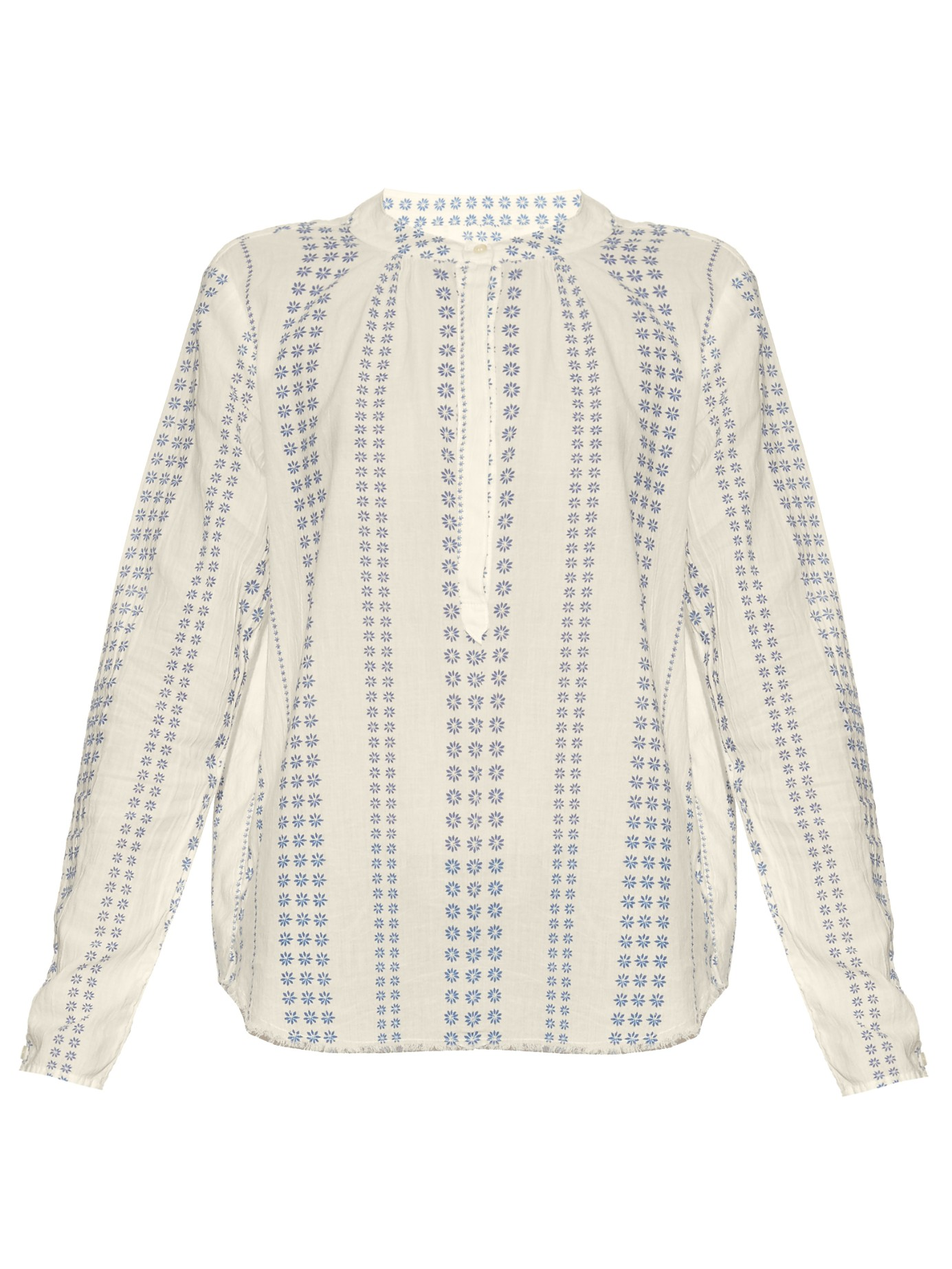 CASUAL CHIC: CURRENT-ELLIOTT The Annabelle cotton blouse