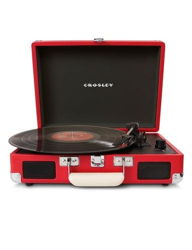 BEDROOM ACCESSORIES FOR A FUN HOME: Crosley Radio 'Cruiser' turntable