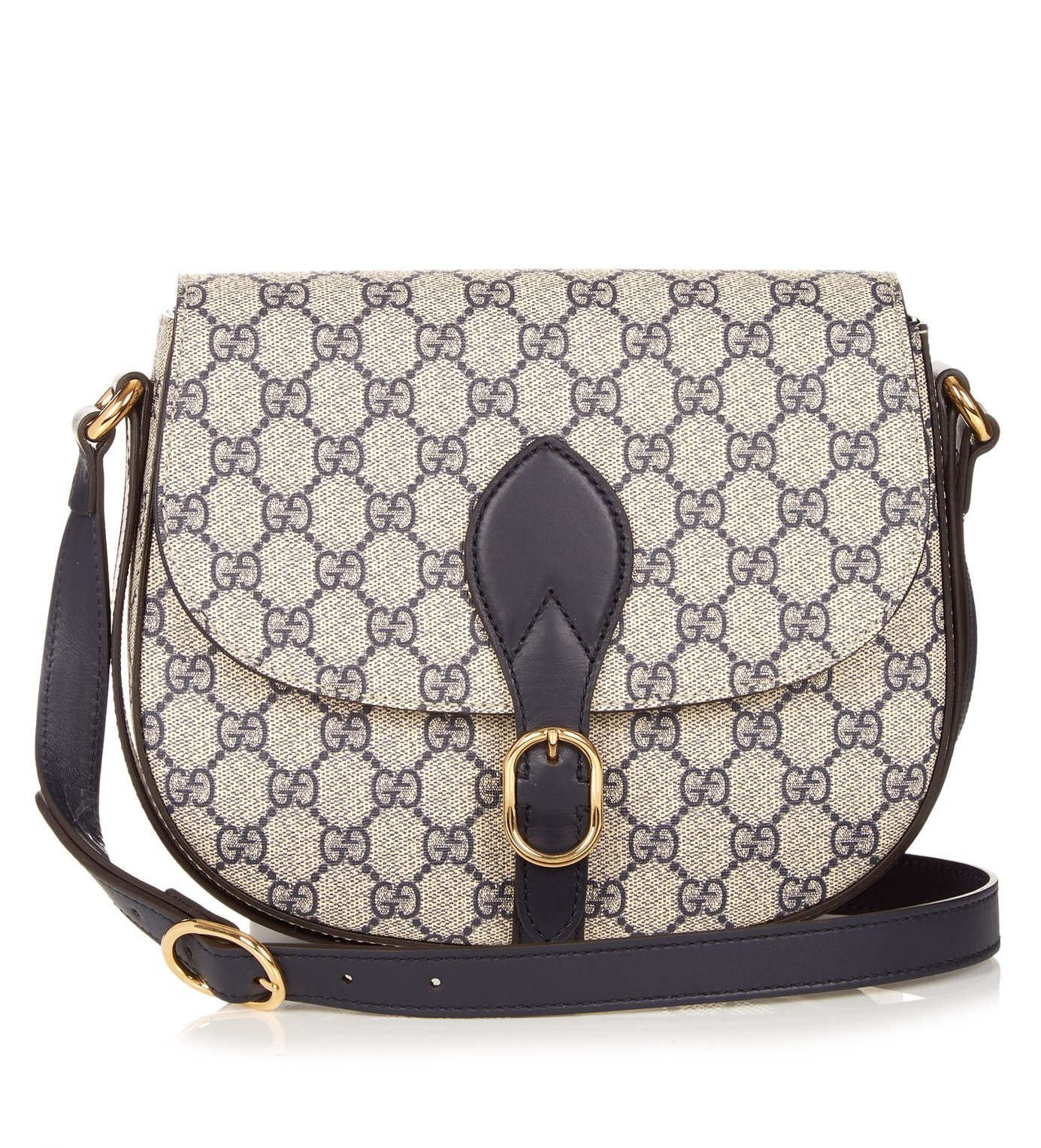 CASUAL CHIC: GUCCI Linea A GG Supreme canvas cross-body bag