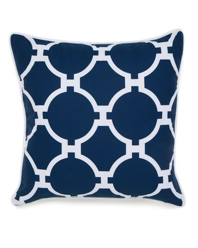 BEAUTIFUL BEDROOMS: Jill Rosenwald 'Copley Hampton Links' Pillow