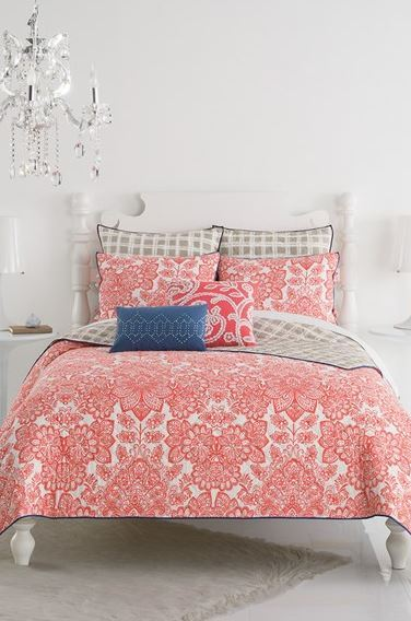 ELEGANT BEDROOM DESIGN: KAS Designs 'Ingrid' bedding collection