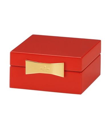 LUSCIOUS HOME DECOR ACCESSORIES: Kate Spade New York 'Garden drive' square jewelry box