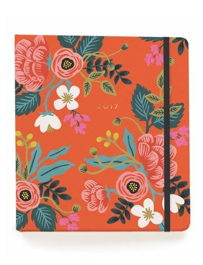 LUSCIOUS STATIONERY: Rifle Paper Co. '2017 Scarlett Birch' planner