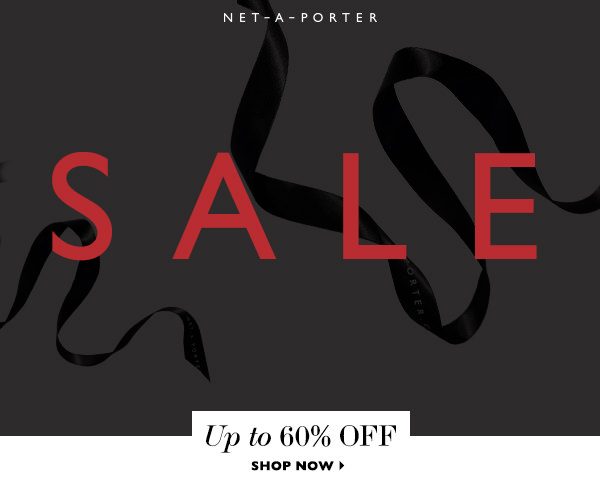 Shop the NET-A-PORTER end of season sale and enjoy up to 50% off on your favourite fashion designers. Plus enjoy free delivery and free returns.