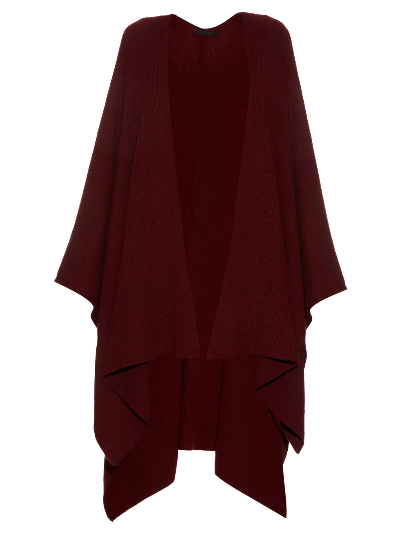 CASUAL CHIC: THE ROW Cappeto cashmere cape