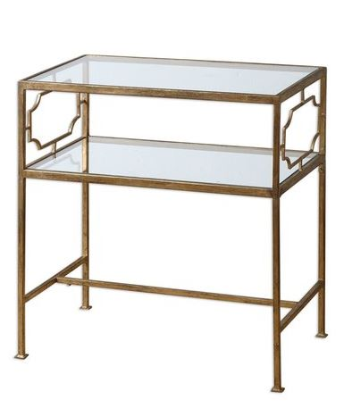 SIDE TABLE PHOTO IDEAS: Uttermost 'Genell' side table