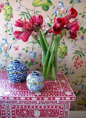 Photos of vases - blue and white vases with flowers.jpg