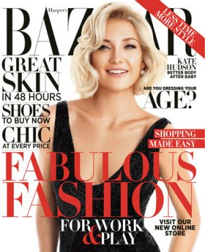 Kate Hudson by Camilla Akrans for Harpers Bazaar US October 2012 cover.jpg