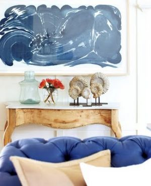 Blue and white decor and fashion - hamptons-blue-artwork.jpg