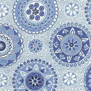 Blue and white photos - geometric prints - Blue and white napkins.jpg