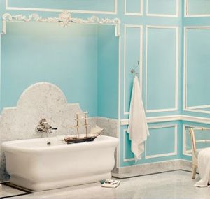 Blue and white pictures - tiffany blue bathroom.jpg