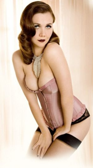 Maggie Gyllenhaal for Agent Provocateur