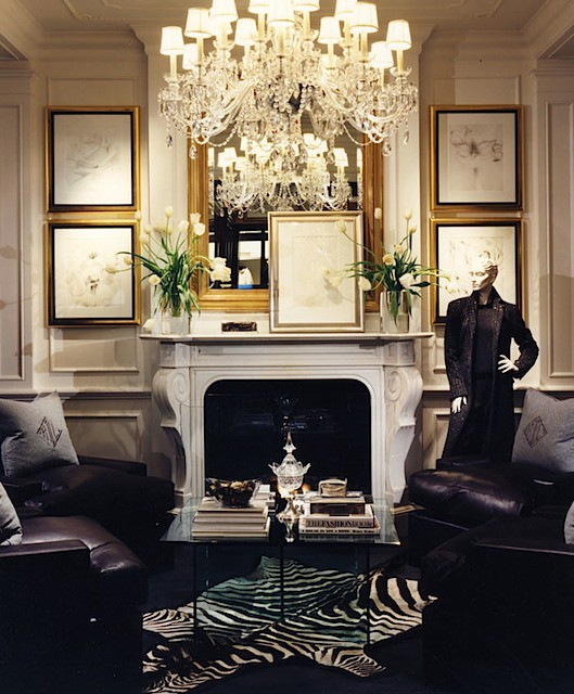 Stylish Home Office: Stylish Home: Ralph Lauren Home