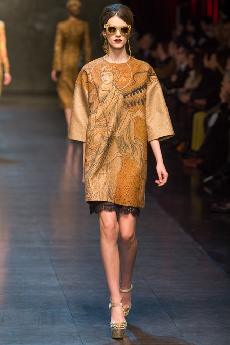RUNWAY: Dolce and Gabbana Fall 2013 RTW collection