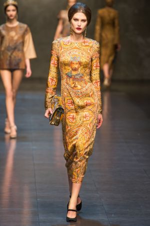 Dolce and Gabbana Fall 2013 RTW collection13.JPG