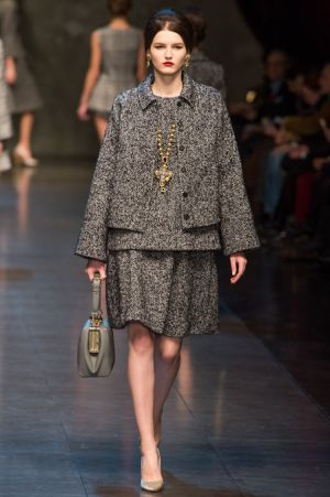 Dolce and Gabbana Fall 2013 RTW collection26.JPG