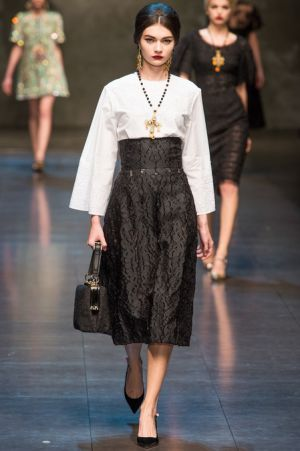 Dolce and Gabbana Fall 2013 RTW collection36.JPG