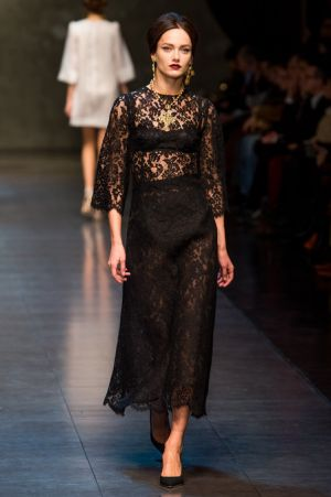 Dolce and Gabbana Fall 2013 RTW collection46.JPG