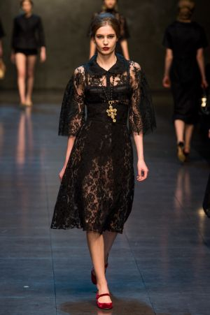 Dolce and Gabbana Fall 2013 RTW collection48.JPG