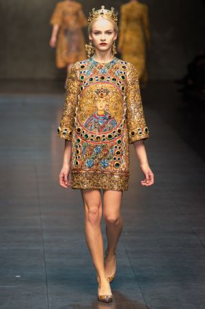 Dolce and Gabbana Fall 2013 RTW collection5.JPG