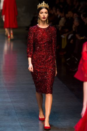 Dolce and Gabbana Fall 2013 RTW collection58.JPG
