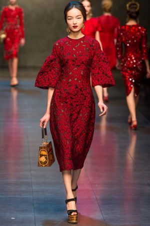 Dolce and Gabbana Fall 2013 RTW collection60.JPG