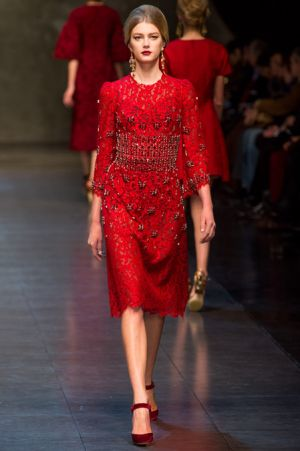 Dolce and Gabbana Fall 2013 RTW collection64.JPG