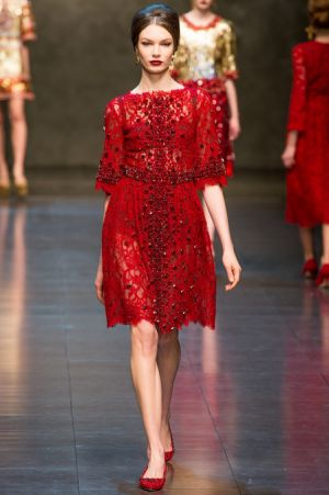 Dolce and Gabbana Fall 2013 RTW collection66.JPG
